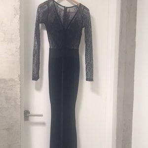 SYMPHONY black dress -back zipper 🖤